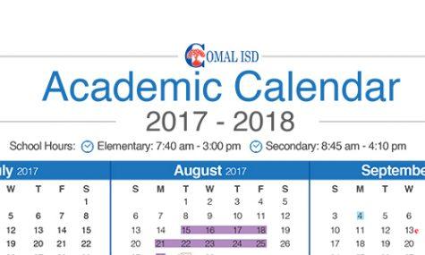 2017-2018 Calendar