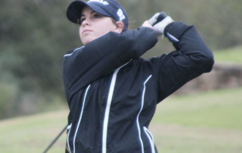 Girls golf takes home district title