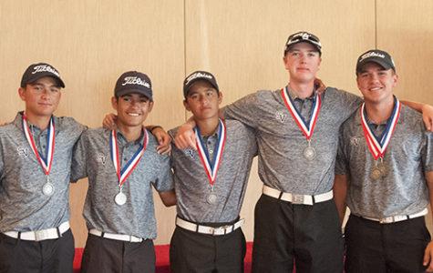 Boys golf advances to region