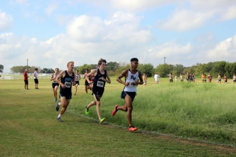 Cross Country breezes by opposition