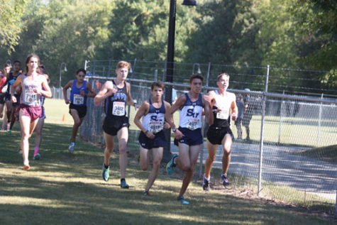Cross Country runs away with district championship