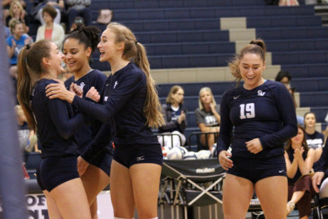 Volleyball takes down Knights