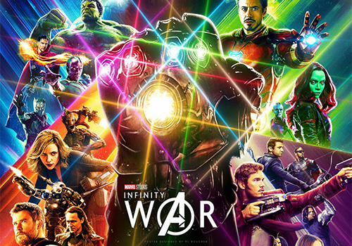 Avengers: Infinity War will be in theaters May 4, 2018.