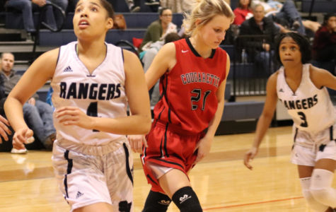 Ranger girls basketball takes on Canyon late in the 2018-2019 season. This year will be the final time the two teams will square off for the foreseeable future.