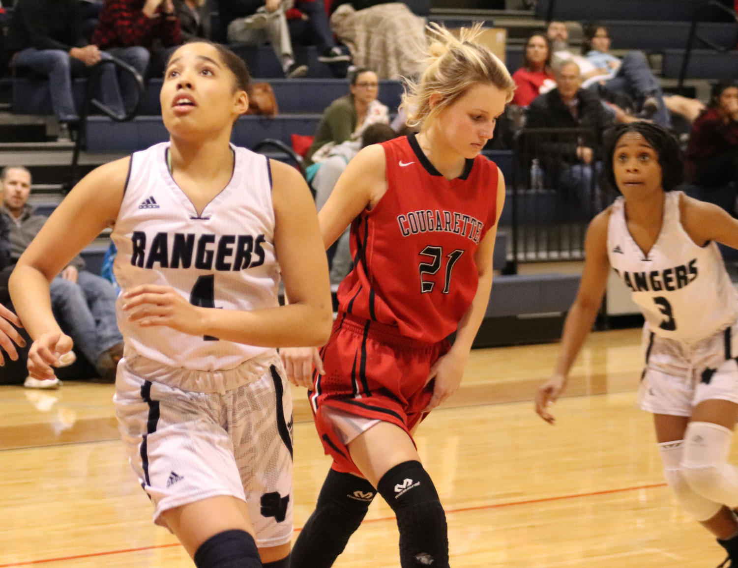 Girls basketball dominated competition early in the season with a combined 16-4 record through their first 20 games. They look to extend their winning streak this Friday against New Braunfels Canyon at 7 p.m. in Cougar Den.