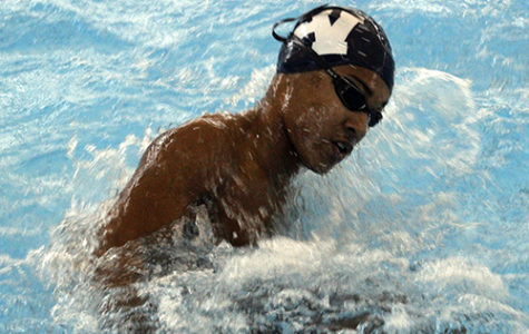 Swimming washes away district competition