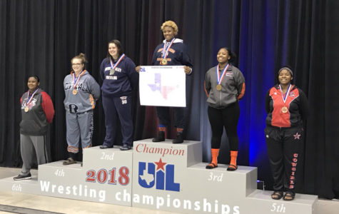 Girls wrestling takes state to the mats