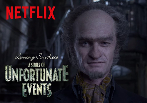 Cover photo for the A Series Of Unfortunate Events - Season 2 trailer.