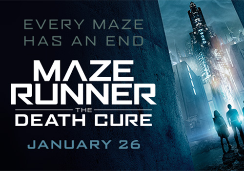 Maze Runner: The Death Cure came out on January 26th starring Dylan O'Brien, Kaya Scodelario, Thomas Brodie- Sangster, Nathalie Emmanuel, and more/