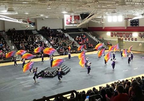 Color guard flourishes to state championships