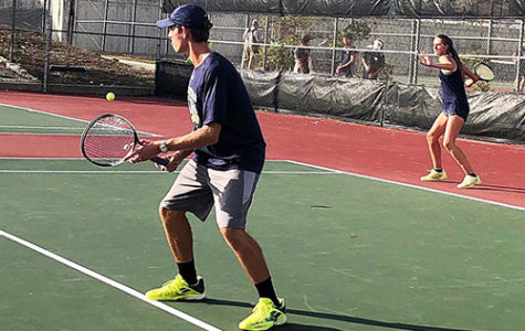 The tennis team competes at home Sept. 8.