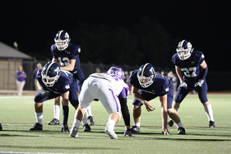 Football stomps San Marcos during Senior Night blowout