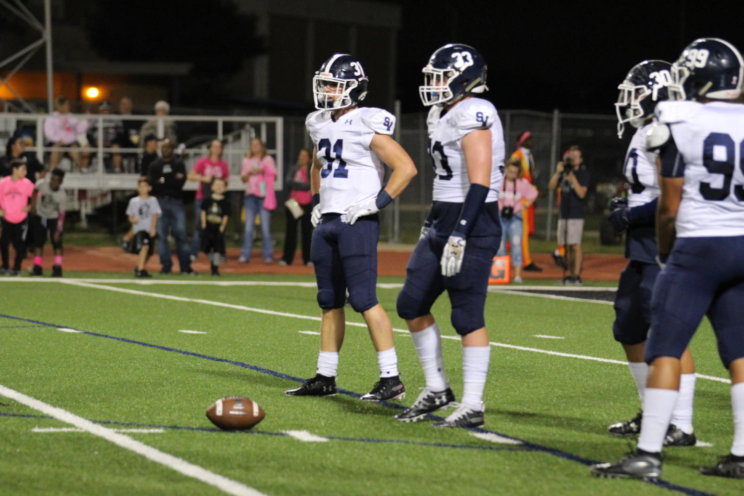 The Smithson Valley booster club has helped fund a bus to carry fans to Austin for this weeks upcoming playoff matchup against Lake Travis. The team will be selling tickets Friday morning along with clear bags to bring into the stadium.