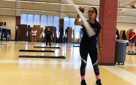 A new spin on winter guard
