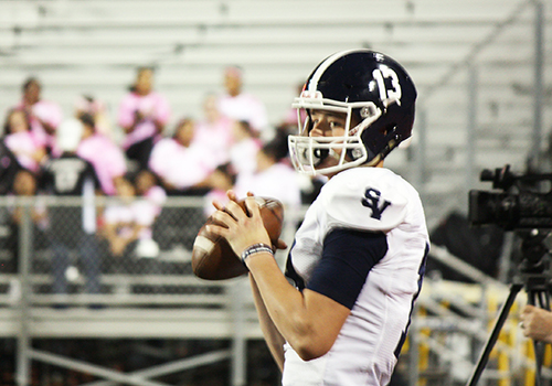 Senior quarterback verbally committed to the University of Houston in his junior year. The recent firing of head coach Major Applewhite and the hiring of Dana Holgorson has Williams considering other options.