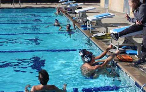 Swimming send off
