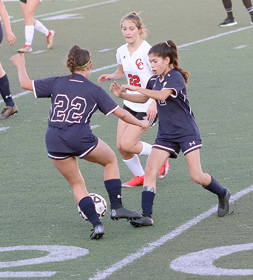 Girls soccer beat East Central on Friday night in a 5-0 victory for the team.