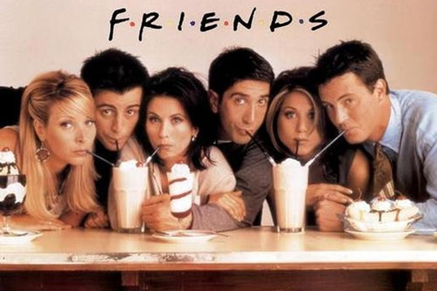 Staff writers Skylar Butts and Emilee Johnson rank the top ten live action sitcoms. Friends was included in their list.