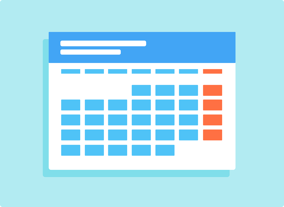 From August to May,  variations galore comprise   the 2019-2020 academic calendar.