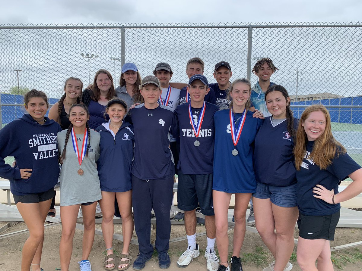 The varsity tennis team competed at the Class 6A district tournament this at Clemens. Senior Sophie Bruce and sophomore Rocco Perciavalle qualified for the regional tournament.