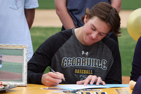 Eilers inks with Cedarville