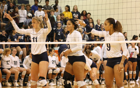 Volleyball team succumbs to Clemens