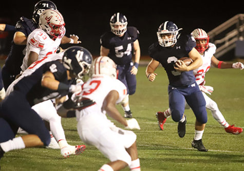 RB Jacob Forton runs against the Judson defense in last year's 28-0 loss. Forton will be a focal point in this Friday's game against Pflugerville Hendrickson.