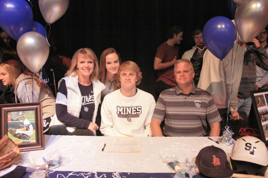 Chandler Cole will attend Colorado School of Mines for baseball.