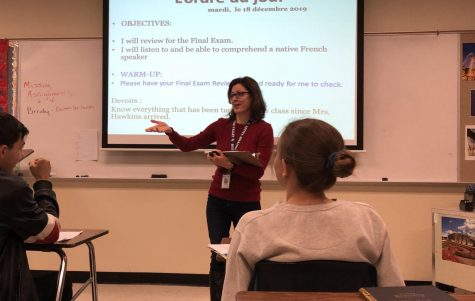 Linda Hawkins shares an experience from her time in France