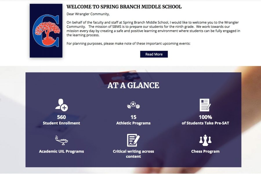 Spring Branch Middle School experienced a drastic decrease in student enrollment after the opening of Pieper Ranch Middle School.