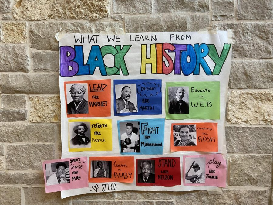 Black+History+Month+is+a+chance+for+students+to+honor+African+Americans.
