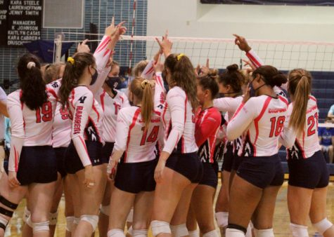 Volleyball continues to hold their undefeated streak, and they donned pink uniforms last Friday at New Braunfels to spread awareness for breast cancer.