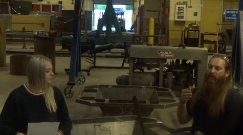 Journalist Ashley Zamponi sits down to talk with Josh DeWaters about the welding program at SVHS.