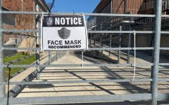 Although the district lifted the mask mandate, teachers and students are still urged to wear facial coverings to prevent spreading COVID-19 and/or quarantining.