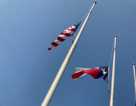 All flags in the Comal Independent School District will remain at half staff for 9/11 remembrance.