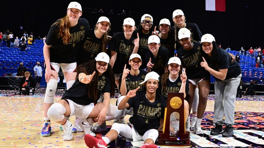 The Stanford womens basketball team won the 2021 NCAA tournament. The 2022 womens tournament will be branded as March Madness.